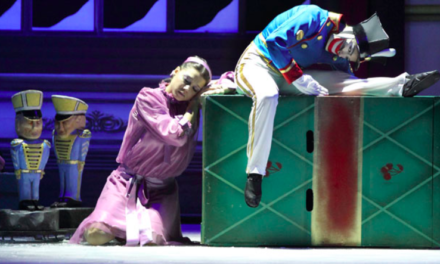 "Tchaikovsky's ""Nutcracker"" Cutting Edge On London Ice"