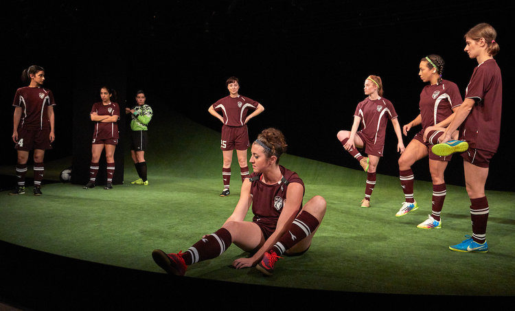 """'No I in Team' – Sarah DeLappe's """"The Wolves"""" at TheaterWorks"""