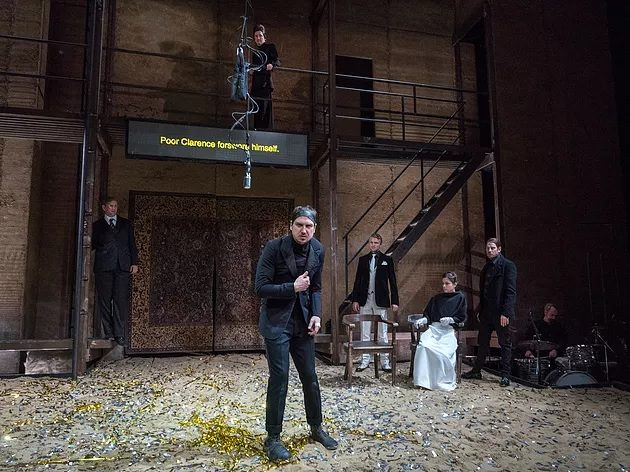 "Thomas Ostermeier's ""Richard III"" at BAM"
