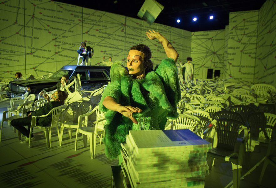 "Cleansed Through Chaos: ""God Bless Iceland"" at The Reykjavik City Theatre"