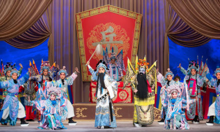 """A River All Red"" And ""The Phoenix Returns Home"" By The China National Peking Opera Company At London's Sadler's Wells"