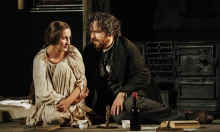 """Young Marx"" at Bridge Theatre"
