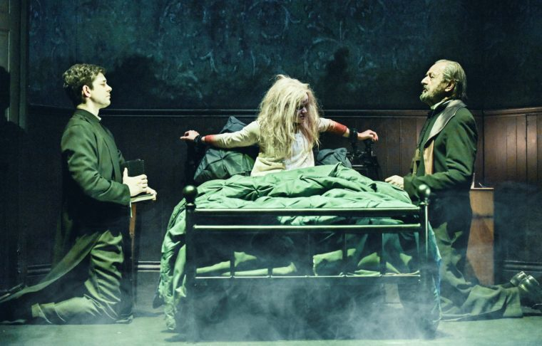 """The Exorcist"" On Stage: 'I Don't Think Our Vomit Is Going To Be Green'"