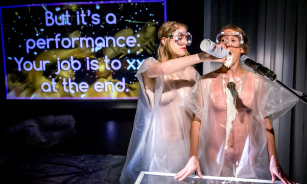 "Female Desire In Experimental Postdramatic Theatre: ""Body Double"" Directed By Eleanor Bishop, BATS Theatre, Wellington"