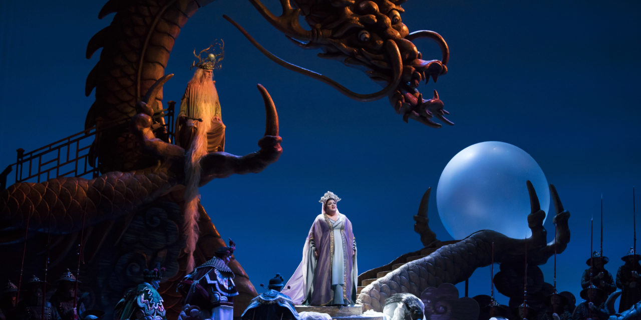 "A Stunning, Though Questionable, ""Turandot"" At Chicago's Lyric Opera"