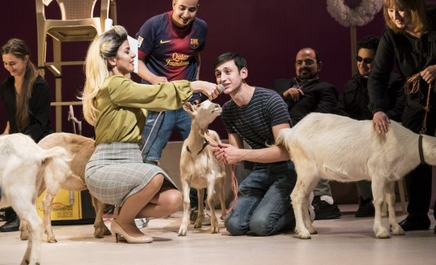"""Goats"" by Syrian Playwright Liwaa Yazjiat at The Royal Court"