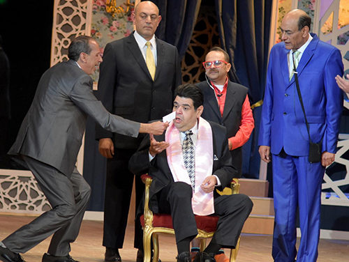 "In Photos: ""Forsa Saeeda"" Play Opens At Cairo's El-Salam Theatre"