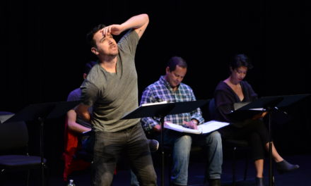 "Sin Muros: Interview With ""Living Sculpture"" Playwright Mando Alvarado"