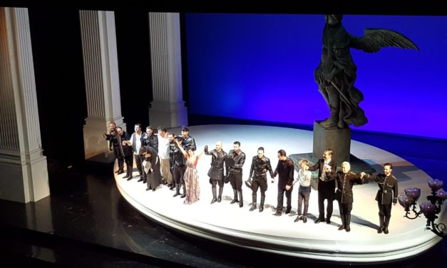 """Tosca"" at The Theatre Comunale di Bologna"