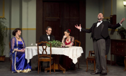 """An Inspector Calls"": OLT Production Suffers from Problematic Staging Choices"