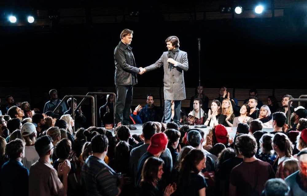 "Immersive ""Julius Caesar"" at The Bridge Theatre"