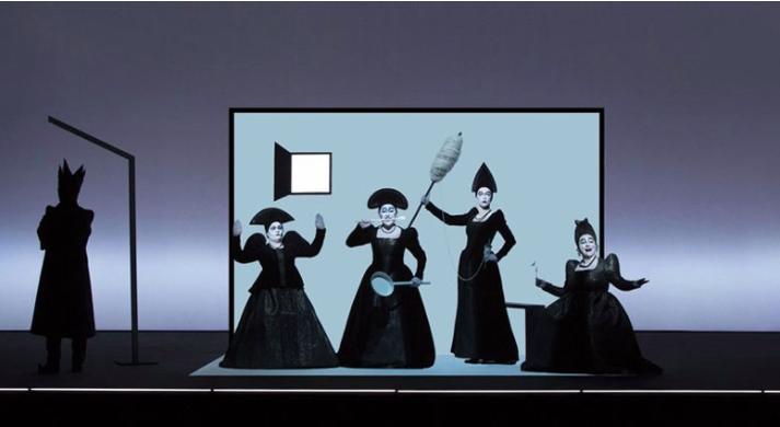 """Daring And Visually Stunning: Robert Wilson's Take On """"Pushkin"""""""