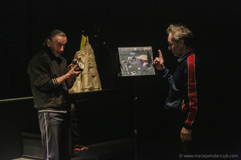 <em>I rozstawili namiot wśród nas</em> [<em>And they pitched a tent among us</em>], Teatr Ósmego Dnia [Theatre of the Eight Day], Photograph by Maciej Włodarczyk.