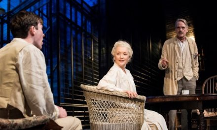 "Richard Eyre's Production Of ""Long Day's Journey Into Night"" Performed By Irons And Manville At Wyndham's Theatre"