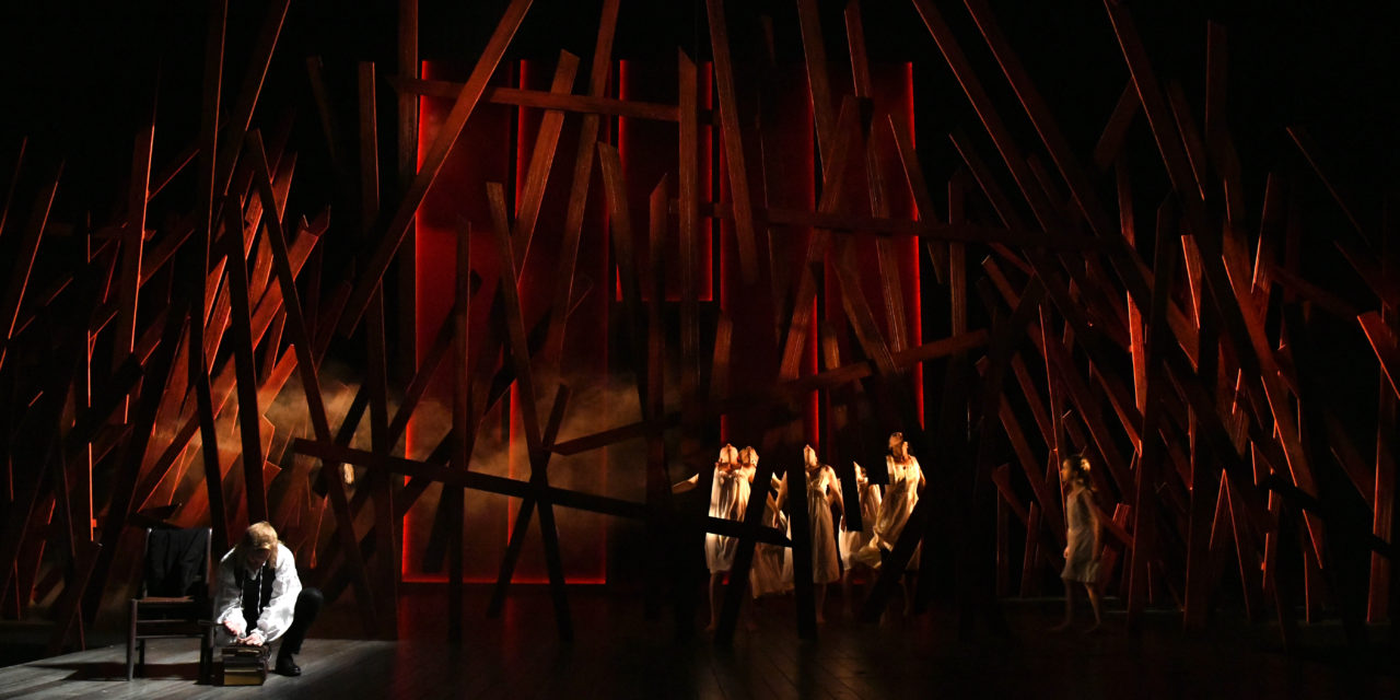 """Psychological Spaces, #Metoo, And """"The Crucible:"""" A Conversation With Set Designer Andrew R. Cohen"""