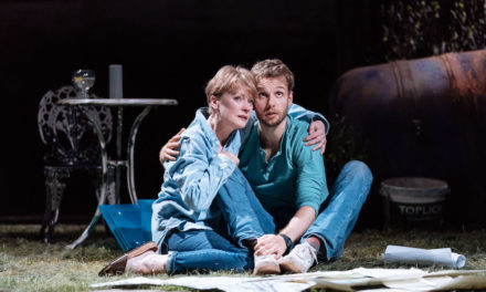 """Nightfall"" at The Bridge Theatre"
