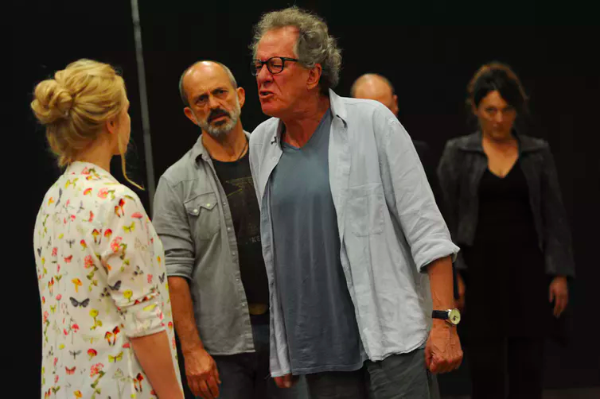 """King Lear"" Reincarnates As Geoffrey Rush–It's A Bloody Tragedy"