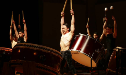 "Kabuki's Bando Tamasaburo V Takes Kodo Drum Troupe In An Artistic New Direction With ""Spiral"""