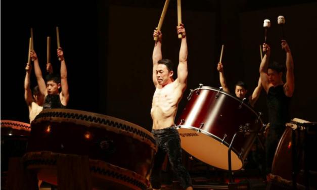 "Kabuki's Bando Tamasaburo V Takes Kodo Drum Troupe In An Artistic New Direction With ""Spiral"""