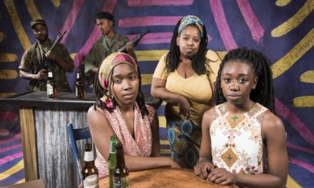 "Dark Glass Theatre's ""Ruined"" Brilliantly Tells A Story Of Humanity Under Seige–But A Predominantly White Audience (Re)Watching Trauma Is Troubling"