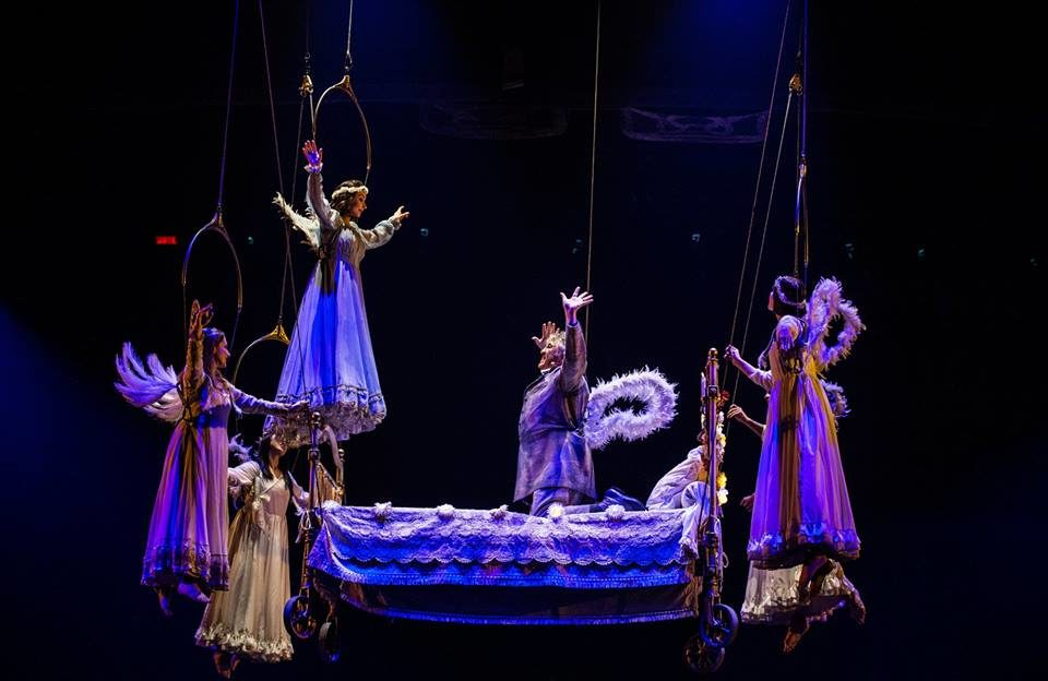 The Cirque Du Soleil Redefines Its Space And Becomes Contemporary Theatre!