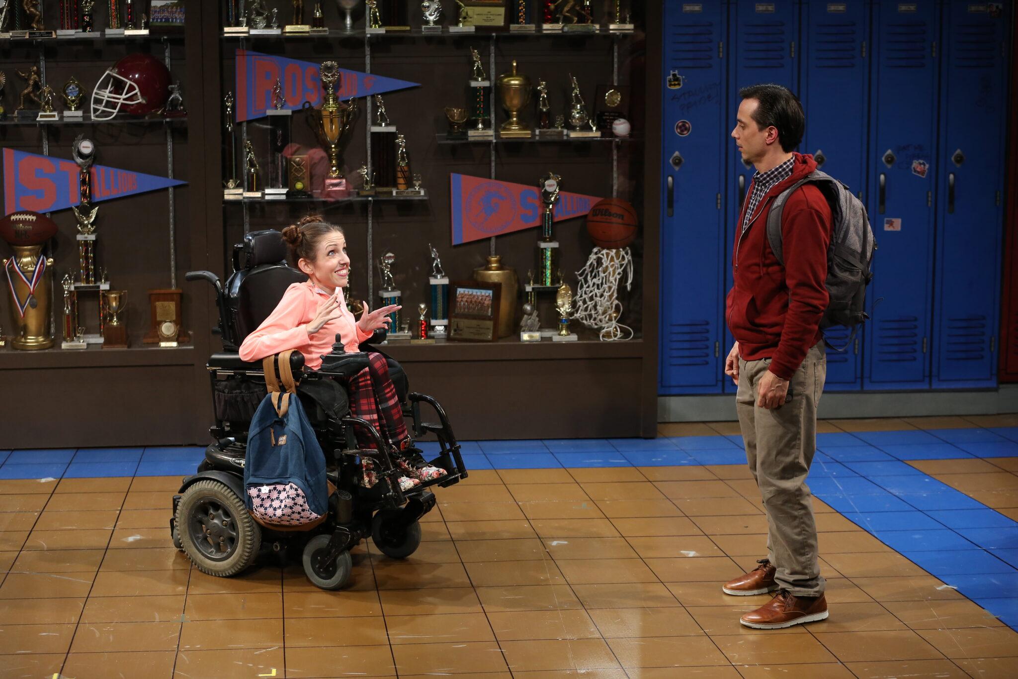 "Shannon DeVido and Gregg Mozgala in ""Teenage Dick"" | Photo Credits Carol Rosegg"