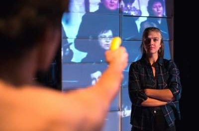 """Theatre Review: """"Poker Face"""" By Petr Kolečko–""""Feels Like It's Happening Right Here Right Now"""""""