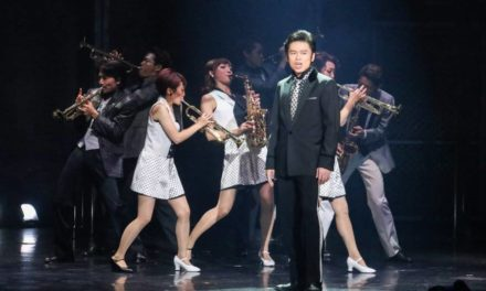 "Akinori Nakagawa Captures Frankie Valli In ""Jersey Boys"""