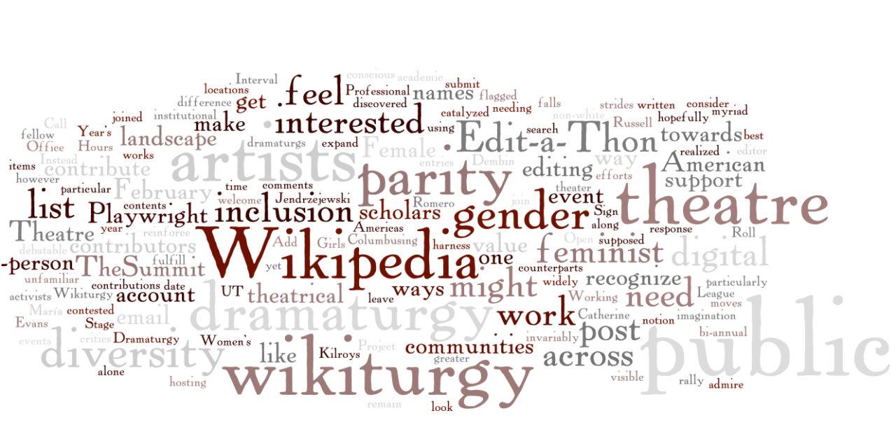 #Wikiturgy Edit-A-Thon