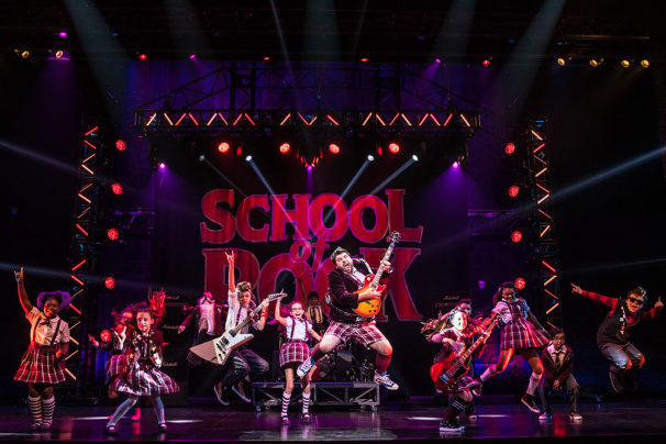 "B+ For Broadway Across Canada's ""School Of Rock"""