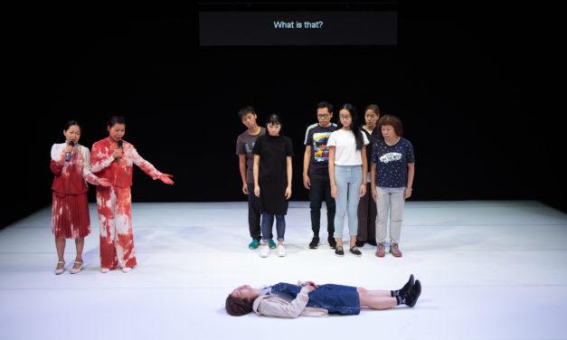 """Oedipus Schmoedipus"" at HKREP Black Box Theatre"