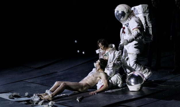 "Ecce Homo: ""The Great Tamer,"" By Dimitris Papaioannou. Dance Umbrella Festival 2018, London, Sadler's Wells"