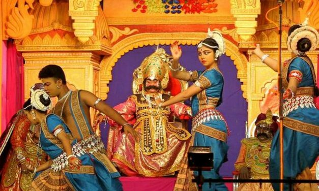 Krishna And Kansa Come Alive For 11 Days Every Year In This Odisha Village