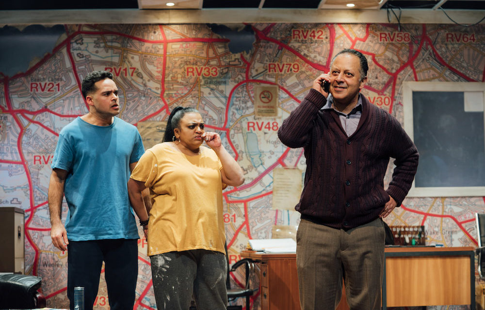 "Ishy Din's ""Approaching Empty"" at The Kiln Theatre"