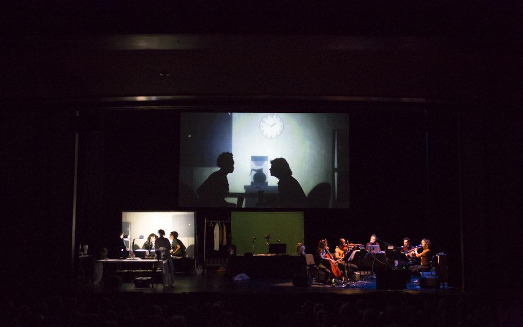 """Bringing Shadows To Life: Manual Cinema's """"The End Of TV"""" At ArtsEmerson"""