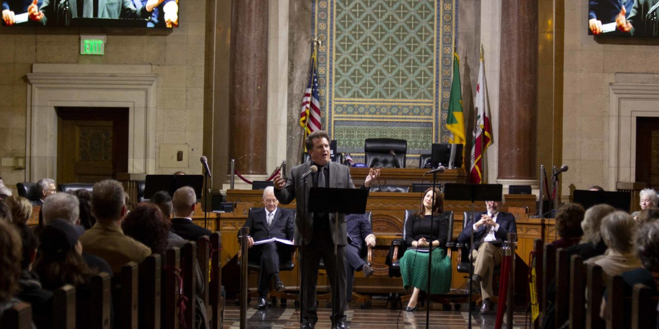 """Ms. Smith Goes To Washington""-The Fountain Theatre At Los Angeles City Hall"