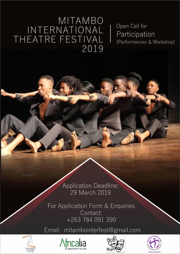 Mitambo Festival poster