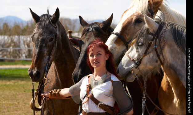 The Patriarchy Won't Smash Itself: Interview with Kryssi Jeaux Miller, Founder of the Northern Colorado Jousting Troupe Knights of the Tempest