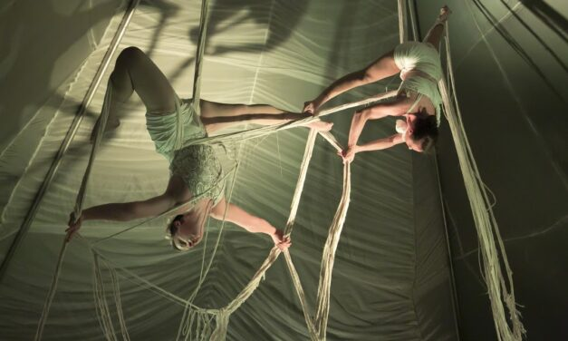 """""""Brave Space"""" By Chicago-Based Aloft Circus Arts (At Iron City Circus Arts On Pittsburgh's South Side)"""