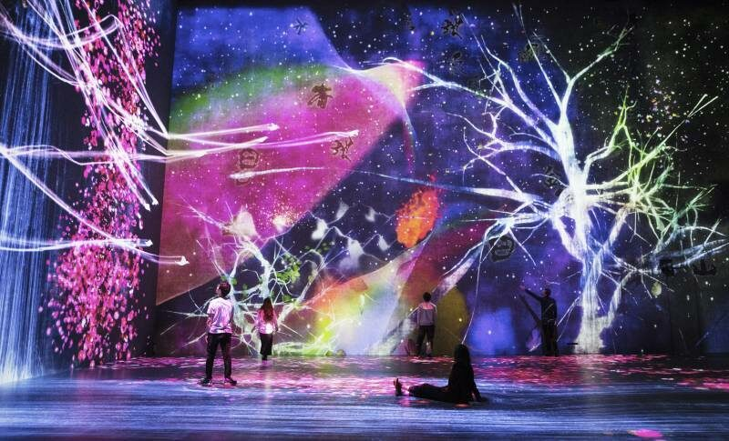 In The Labyrinth Of Surfaces: Performativity, And Visitor Experience In The teamLab Exhibitions