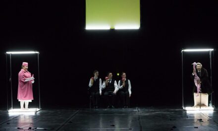 "The Ritual Of Illusion. ""Gogol. Fatum"" At Gomel State Drama Theatre"