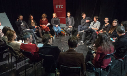 ETC and Ukrainian Theatre: A Dialogue of Art, Change, and Support