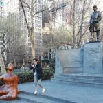 "Fiona Shaw Performs ""The Waste Land"" In Madison Square Park"