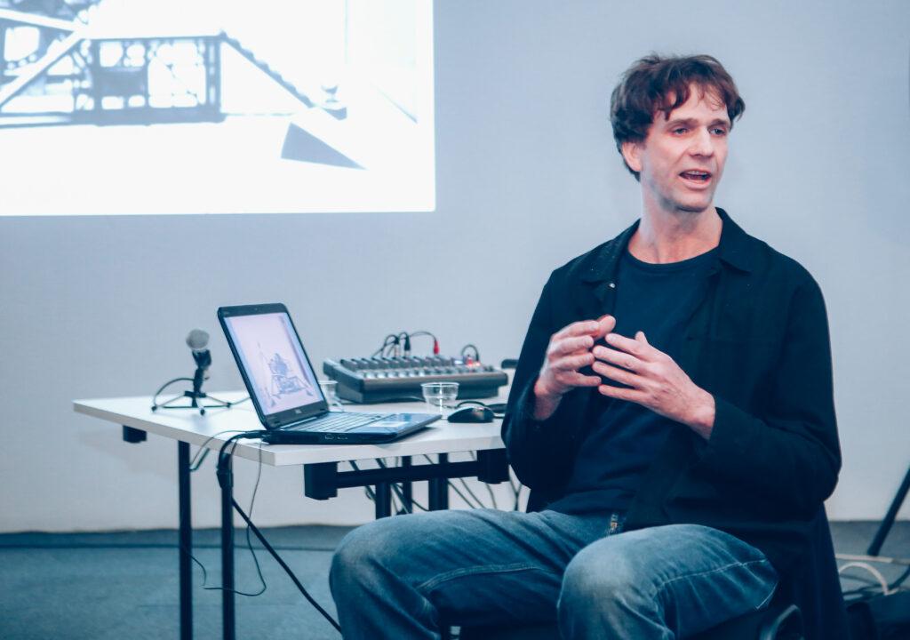 Jan Pappelbaum. Photo credit Natasha Geleva (Leni).