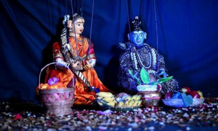 Stories in Sandalwood: Mudrika Puppets