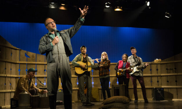 """The Pigeon King"" At The NAC Is A Perfect Country Musical About Pigeon Scams, The Modern Family Farm, Hope And Loss, And That Reality Is Stranger Than Fiction"