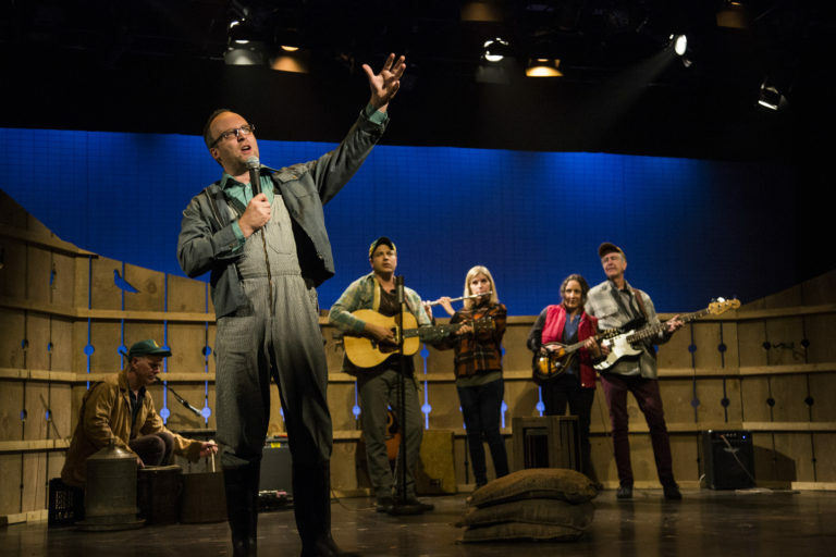 """The Pigeon King"" At The NAC Is A Perfect Country Musical About Pigeon Scams, The Modern Family Farm, Hope, And Loss And That Reality Is Stranger Than Fiction"