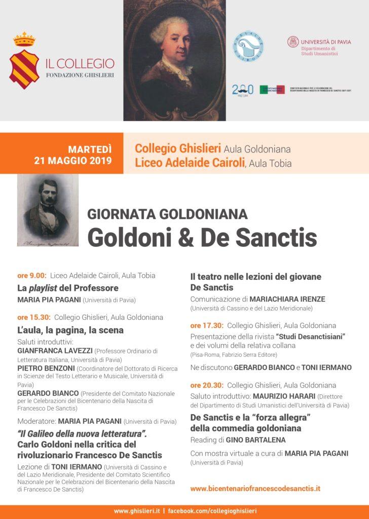 Goldoni Day 2019. Poster.