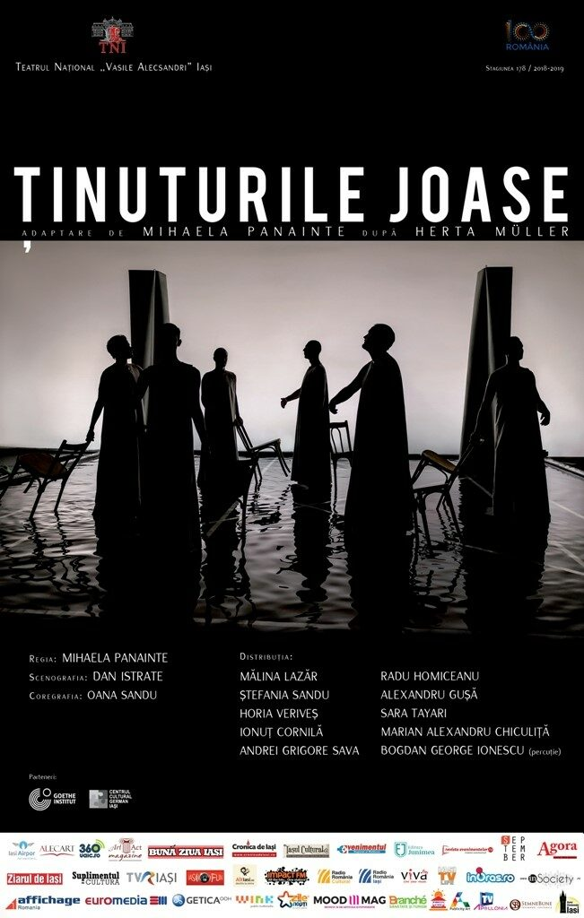 <em>Ţinuturile joase</em> [<em>Lowlands </em>] Publicity poster. Photo: Odin Moise.