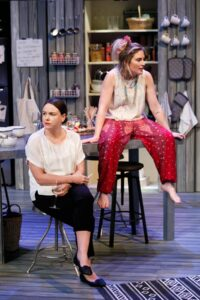 Amy Mathews and Emily Rose Brennan deliver strong performances as sisters in <em>Water</em>. Daniel J Grant